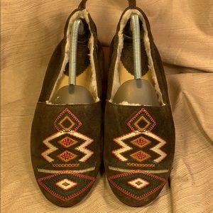 LATIGO leather loafers NWT sz10M never embroidered
